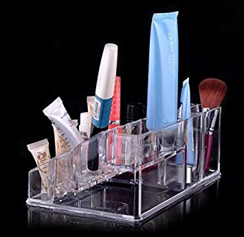 kltech transparent acryl kosmetik organizer make up organizer set aufbewahrung f r lippenstift. Black Bedroom Furniture Sets. Home Design Ideas