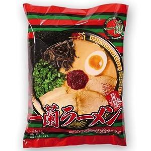 一蘭ラーメン 袋麺 10食セット(5食パックx2セット) 福岡店舗限定販売品