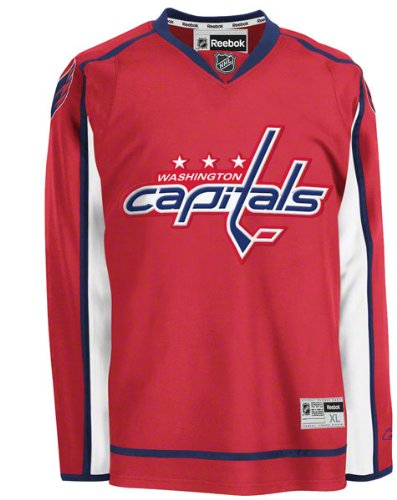 Washington Capitals Red Premier Nhl Jersey