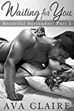 Waiting For You (Beautiful Surrender, Part One) (A Billionaire Romance)