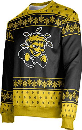 ProSphere Adult Wichita State University Ugly Holiday Snowflake Sweater