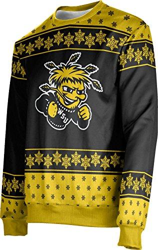 ProSphere Adult Wichita State University Ugly Holiday Snowflake Sweater