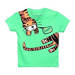 Chirpie Pie by Pantaloons Boy's T-Shirt_Size_6 - 9 Months