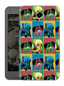 """Puppy Love Retro Printed Designer Mobile Back Cover For """"Lenovo S880"""" By Humor Gang (3D, Matte Finish, Premium Quality, Protective Snap On Slim Hard Phone Case, Multi Color)"""