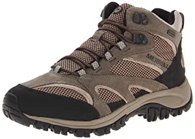 Merrell Men's Phoenix Mid Waterproof Hiking Boot,Boulder,7 W US