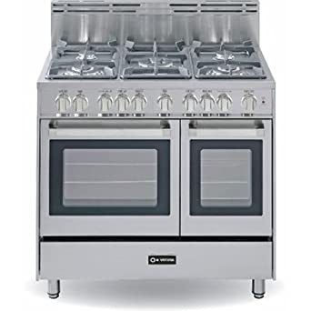 Amazon Verona 36 Double Oven Gas Range SS Appliances