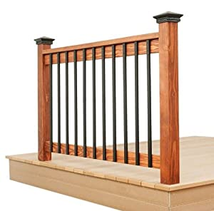 32 25 Inch Rectangle Facemount Baluster Smooth 5 Pack