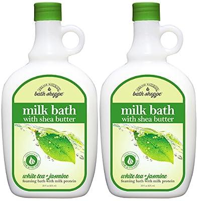Bath Shoppe White Tea Milk Bath 28 fl oz