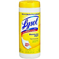 Lemon Lime Blossom Lysol Sanitizing Wipes-35CT LEM/LIM LYSOL WIPES