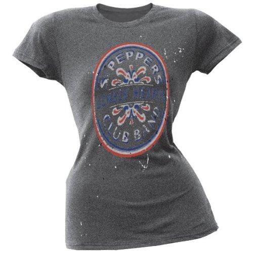 The-Beatles-Sgt-Pepper-salpicaduras-Juniors-Camiseta