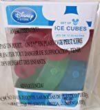 Disney Mickey Mouse Set of 12 Freezable Plastic Ice Cube Shaped Like Mickey Mouse