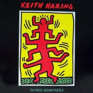 Keith Haring Growing #1, 1998 ~ 750 Piece Jigsaw Puzzle