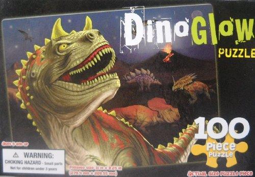 Dino Glow - 100 Piece Puzzle - 1