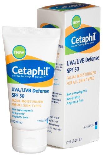 Cetaphil UVA / UVB Défense SPF 50 Visage