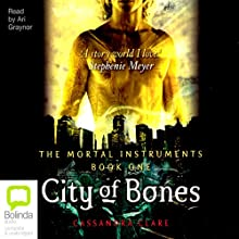 City of Bones Audiobook by Cassandra Clare Narrated by Ari Graynor