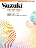 Duets for Violin --- Violons (2) - Suzuki --- Alfred Publishing