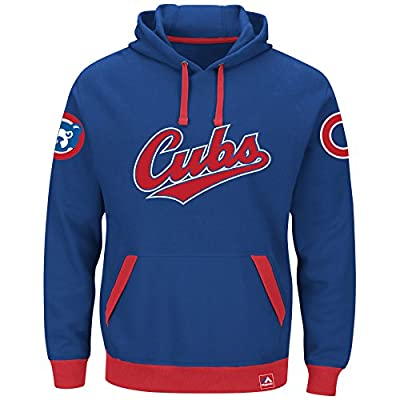"Chicago Cubs Majestic MLB ""Forever"" Cooperstown Hooded Sweatshirt"
