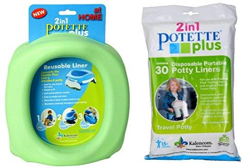 Kalencom Potette Plus At Home + 30 Kalencom Potette Plus Liners - 1