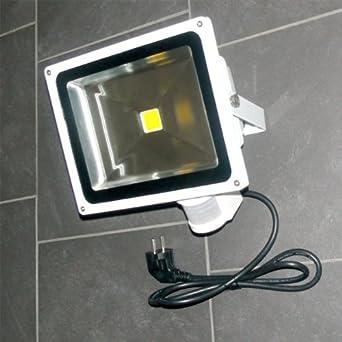 2X Kaltweiß 10W LED Fluter Flutlicht Außen Strahler Scheinwerfer Lampe DC12 Volt