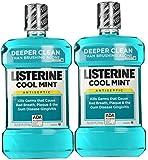 Cool Mint Listerine Antiseptic Mouthwash (2 X 1.5lt)