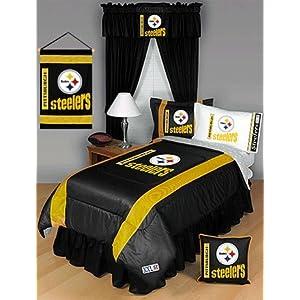 nfl pittsburg steelers bedding comforter twin single