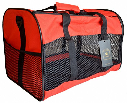 Kenox Soft-Sided Pet Travel Carrier for Dogs, Cats