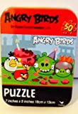 Mini Tins with 24 or 50 Piece Puzzles! Collect Them All! 4x3x1 Barbie, Spider-Man, Disney Junior- Jake & Neverland Pirates, Angry Birds, & Toy Story! (3/ Angry Birds)