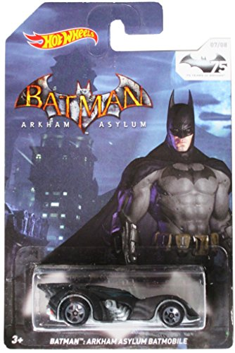 Hot Wheels 75 Years of Batman - Arkham Asylum Batmobile 07/08 - 1