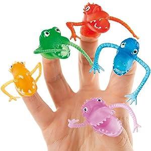 Marionetas de monstruos para dedos (pack de 10)   Comentarios y más información