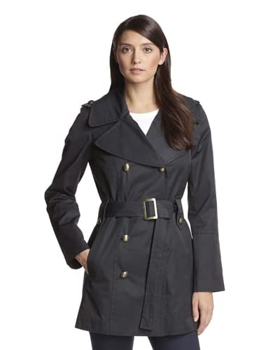 Anne Klein Women's Double-Breasted Trench