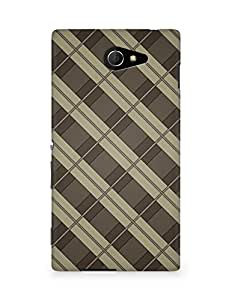 Amez designer printed 3d premium high quality back case cover for Sony Xperia M2 D2302 (Smooth Pattern)