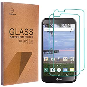 [2-PACK]-Mr Shield For LG Premier LTE [Tempered Glass] Screen Protector with Lifetime Replacement Warranty from Mr Shield