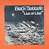 BLACK SABBATH Live At Last BS 001 PH LP Vinyl VG+ Cover VG+