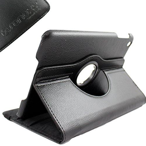 Sanoxy® Ipad Mini Case, Leather 360 Degrees Model, Function: Automatically Wakes And Puts The Ipad Mini To Sleep (Black)