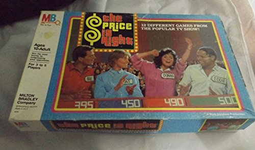 The Price Is Right vintage home game 1986 - 1