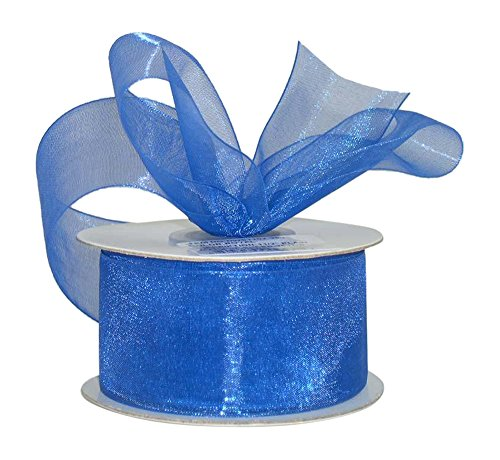 ribbon-bazaar-sheer-organza-3-8-inch-royal-blue-25-yards-100-nylon-ribbon