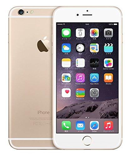 Apple アップル iPhone6 Plus 16GB ゴールド 【格安SIM使用可能】 SIMフリー 白ロム アップル社正規整備済み メーカーリファブ品