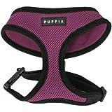 Puppia Soft Dog Harness, Purple, Medium