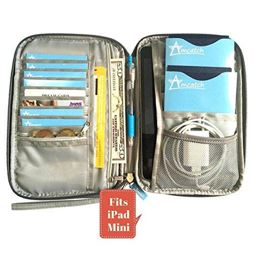 Packing cubes 6 pcs large travel set luggage organizers for Family travel document organizer