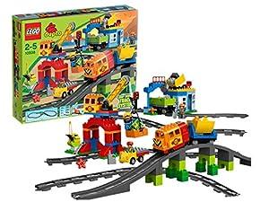 Lego Duplo Legoville - 10508 - Jouet de Premier Age - Mon Train de Luxe