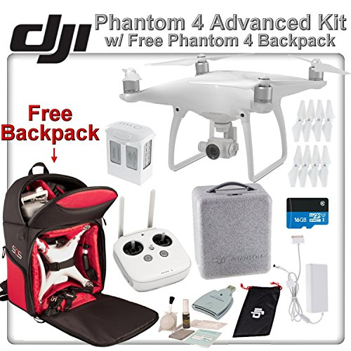 DJI-Phantom-4-Quadcopter-Backpack-Bundle-Includes-Free-Soft-Padded-Backpack-16GB-MicroSD-Card-and-more