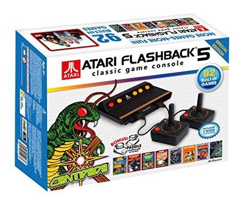 Atari Flashback 5 Classic Game Console + Bonus Paddle Controllers