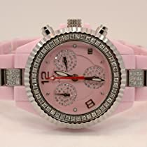 Aqua Master Ladies Ceramic Diamond Watch 3.00ctw W1152