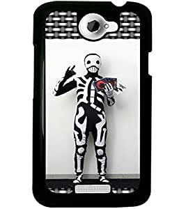 ColourCraft Creative Image Design Back Case Cover for HTC ONE X