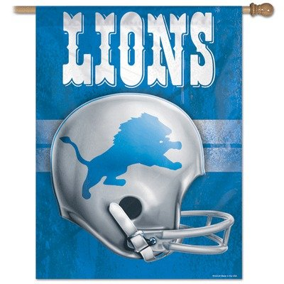 Detroit Lions Flag Vertical Best Deals and Prices Online