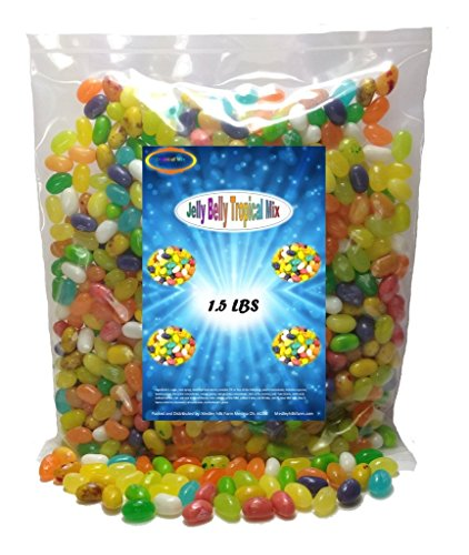 Jelly Belly Tropical Mix 1.5 lbs Jelly Beans 16 tropical flavors (Tropical Starburst Jelly Beans compare prices)