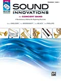 Sound Innovations for Concert Band, Bk 1: A Revolutionary Method for Beginning Musicians (Trombone) (Book, CD & DVD)