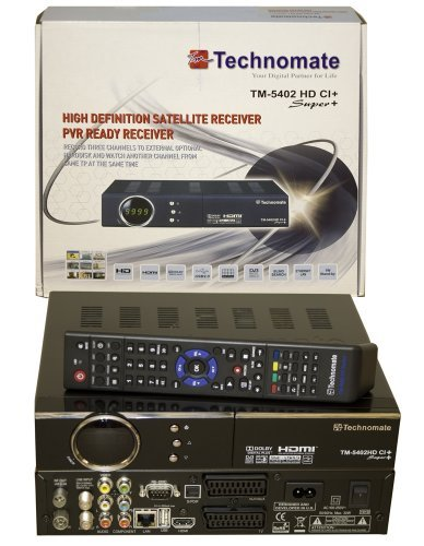 Technomate TM-5402 HD PVR ready satellite receiver