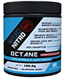 Naturo Nitro Pre Workout Octane - Maximize Your Training with Massive Muscle Building Power for Any Fitness Level! Ignites a Body Building Construction Project with Every Workout - A Precision Formulated, Preworkout Performance Blend of Select Amino Acids Teams with a Vein-bulging, Triple-action Creatine Blend to Drive Your Muscle Gain and Workout Results to the Extreme - With Naturo Nitro Octane, Your Pre-workout Is Super Charged with a Proprietary, Jungle Crazed Energy and Focus Blend Combining Eight of Nature's Premier, Energy Accelerating Compounds, 28 Servings Pink Lemonade