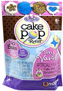 Cool Baker Cake Pop Refill Very Vanilla
